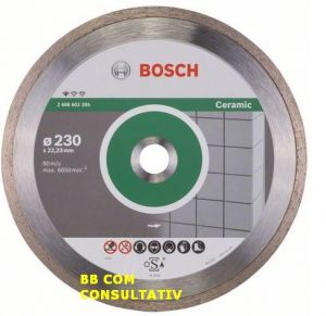 Disc Diamantat PROFESIONAL for Ceramic,D=230mm