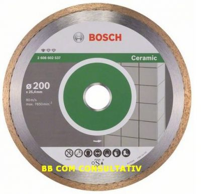 DISC,DIAMANTAT,Standard CERAMIC  =200x25,4 ― Diamantat.ro