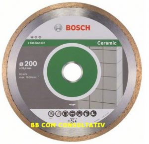 DISC,DIAMANTAT,Standard CERAMIC  =200x25,4