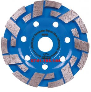 Disc diamantat slefuire beton nearmat,D=125mm